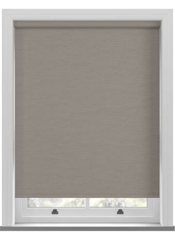 Electric Roller Blinds Lintex PVC Blackout Steel Grey