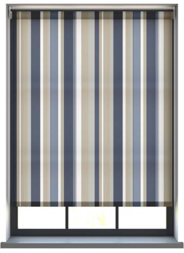 Electric Roller Blinds Lola Swing Blues