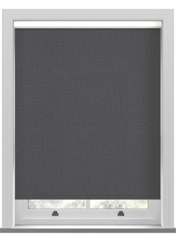 Electric Roller Blinds Marlow Blackout Graphite