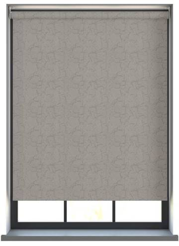 Electric Roller Blinds Metz PVC Blackout Ash Grey