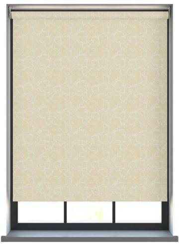Electric Roller Blinds Metz PVC Blackout Cream