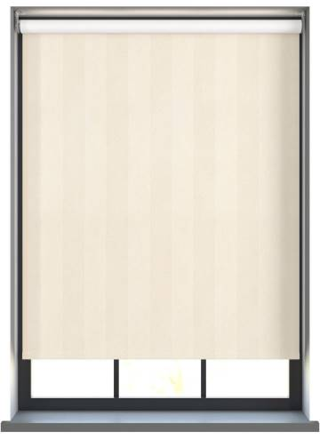 Electric Roller Blinds Napa Blackout Cream