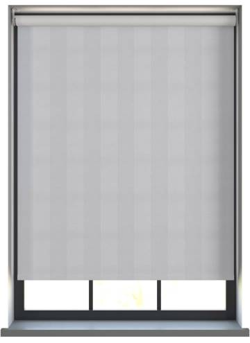 Electric Roller Blinds Napa Blackout Mid Grey