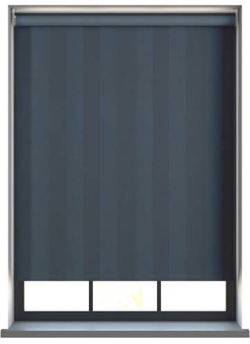 Electric Roller Blinds Napa Blackout Navy Blue