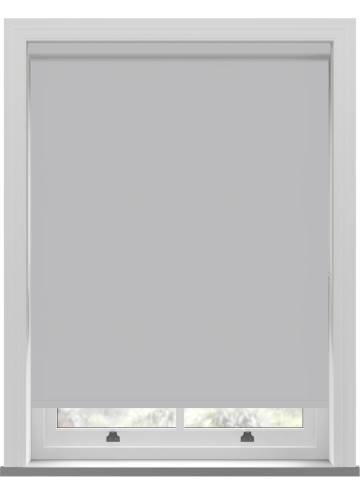 Electric Roller Blinds Oslo Blackout Grey