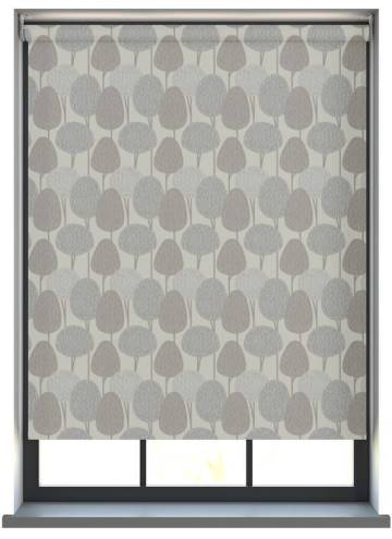 Electric Roller Blinds Othello Script Grey
