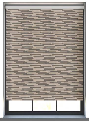 Electric Roller Blinds Podium Blackout Midnight
