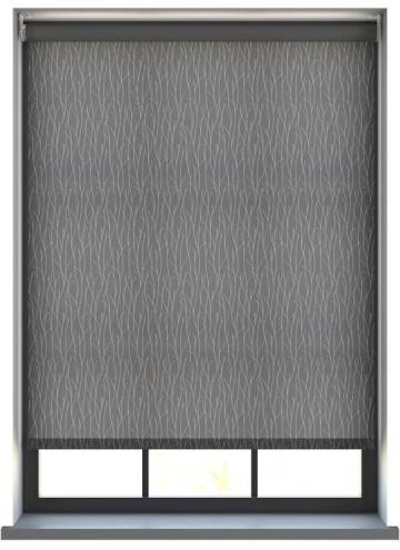 Electric Roller Blinds Sio Charcoal