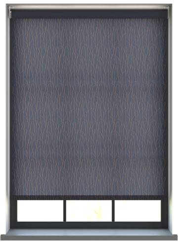 Electric Roller Blinds Sio Merino Navy