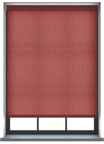 Electric Roller Blinds Sio Rocoto Red