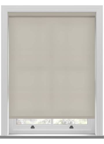 Electric Roller Blinds Splash Almond