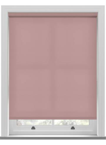 Electric Roller Blinds Splash Blush Pink