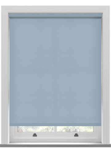Electric Roller Blinds Splash Brittany Blue