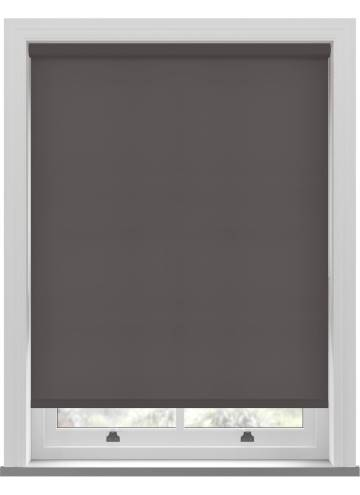 Electric Roller Blinds Splash Chocolate Brown