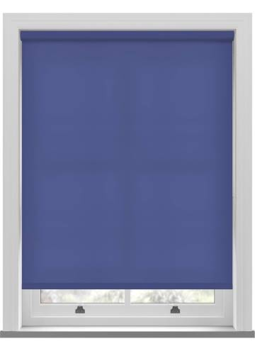 Electric Roller Blinds Splash Classic Blue