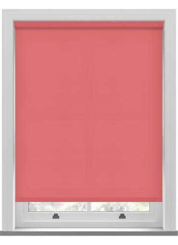 Electric Roller Blinds Splash Flamingo Pink
