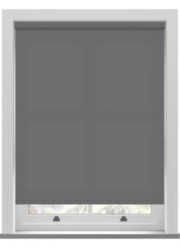 Electric Roller Blinds Splash Fossil Grey