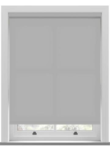 Electric Roller Blinds Splash Grey Whisper