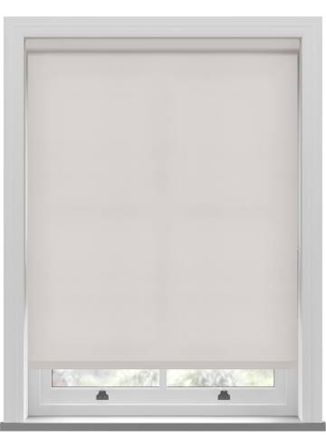 Electric Roller Blinds Splash Ivory Off-White