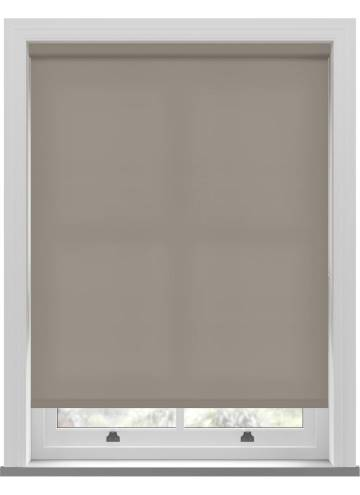 Electric Roller Blinds Splash Latte Brown