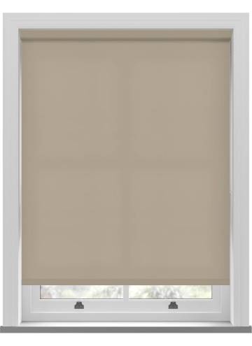 Electric Roller Blinds Splash Natural Hessian