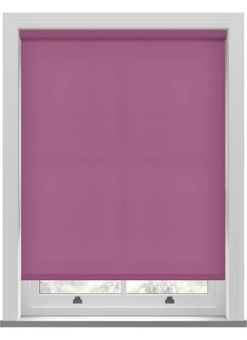 Electric Roller Blinds Splash Orchid Purple