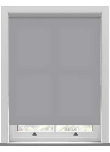 Electric Roller Blinds Splash Pewter Grey