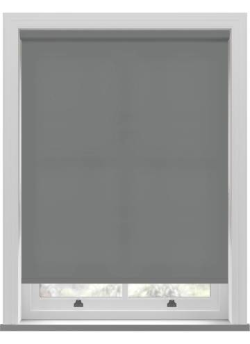 Electric Roller Blinds Splash Rock Grey