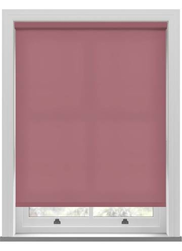 Electric Roller Blinds Splash Rosewood Pink