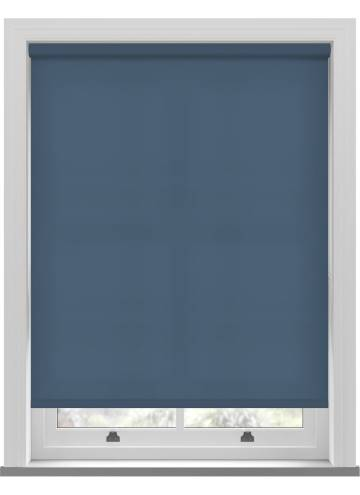 Electric Roller Blinds Splash Sapphire Blue
