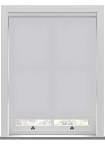 Electric Roller Blinds Splash Silver Mist