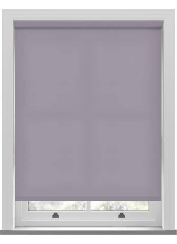 Electric Roller Blinds Splash Sloe Purple
