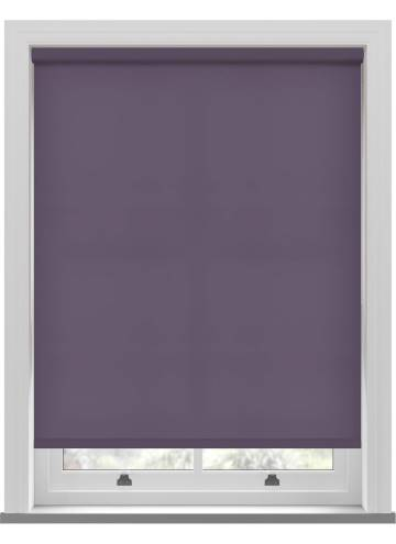 Electric Roller Blinds Splash Smokey Purple