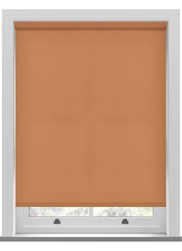 Electric Roller Blinds Splash Tango Orange