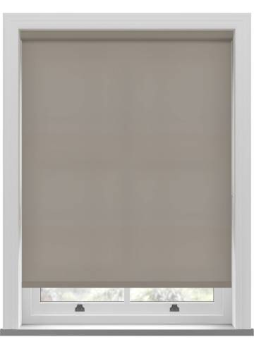 Electric Roller Blinds Splash Taupe Brown
