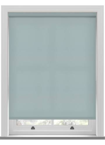 Electric Roller Blinds Splash Tiffany  Blue