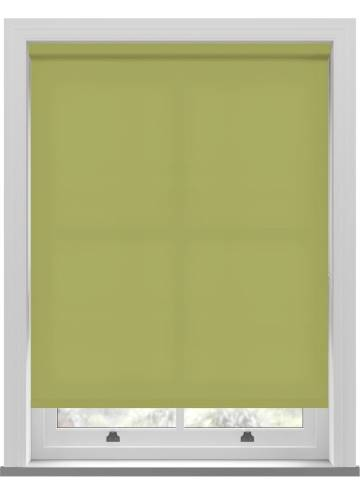 Electric Roller Blinds Splash Vine Green