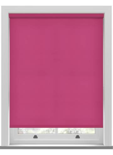 Electric Roller Blinds Stockholm Lipstick Pink