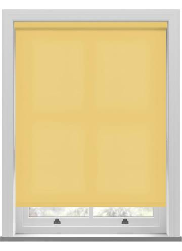 Electric Roller Blinds Stockholm Mellow Yellow