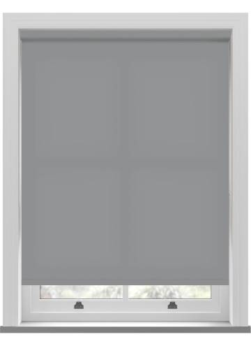 Electric Roller Blinds Stockholm Mid Grey