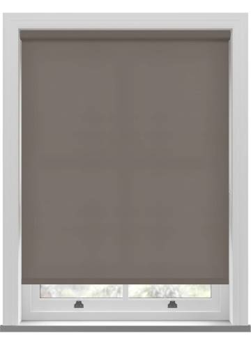 Electric Roller Blinds Stockholm Mocha Brown