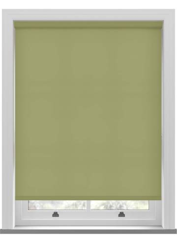 Electric Roller Blinds Stockholm Moss Green