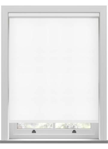 Electric Roller Blinds Stockholm Paper White
