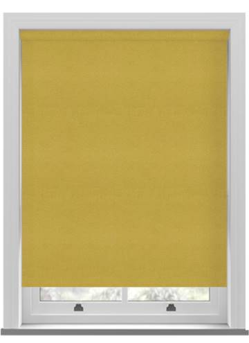 Electric Roller Blinds Suede Blackout Citrus Lime