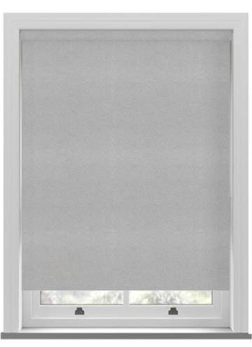 Electric Roller Blinds Suede Blackout Steel Grey