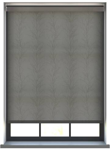 Electric Roller Blinds Treviso Graphite Grey