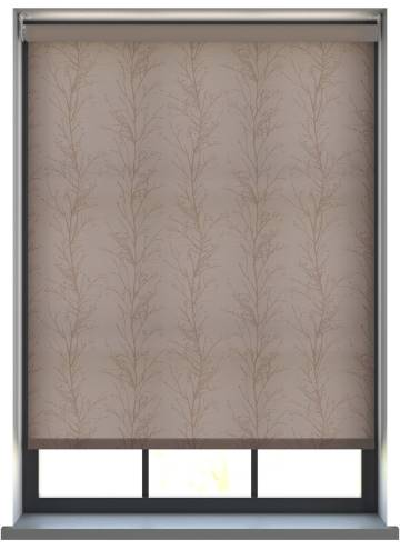 Electric Roller Blinds Treviso Monsoon Taupe Brown
