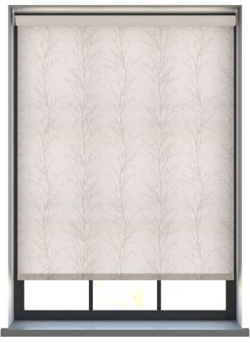 Electric Roller Blinds Treviso Pomelo Silver