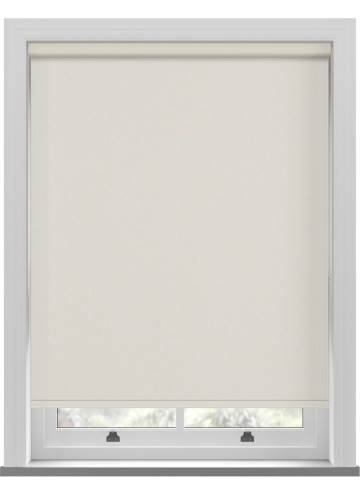 Electric Roller Blinds Umbra Blackout Ivory Cream
