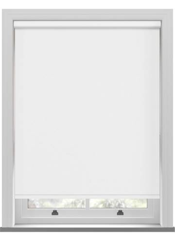 Electric Roller Blinds Umbra Blackout White